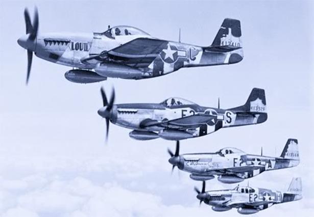 P-51s