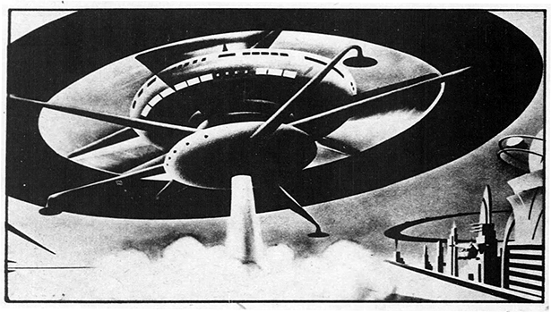Radebaugh flying disc