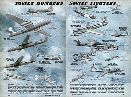 Soviet bombers-fighters