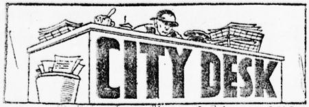 City desk banner