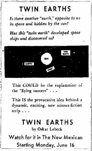 Twin Earths