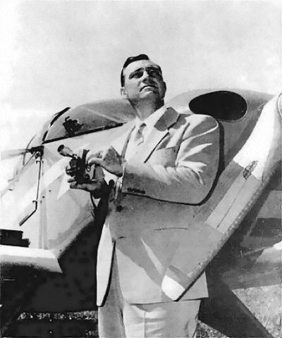 Kenneth Arnold With Camera