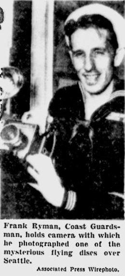 Coastguardsman Frank Wyman