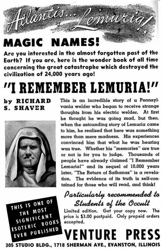 Venture Press Lemuria