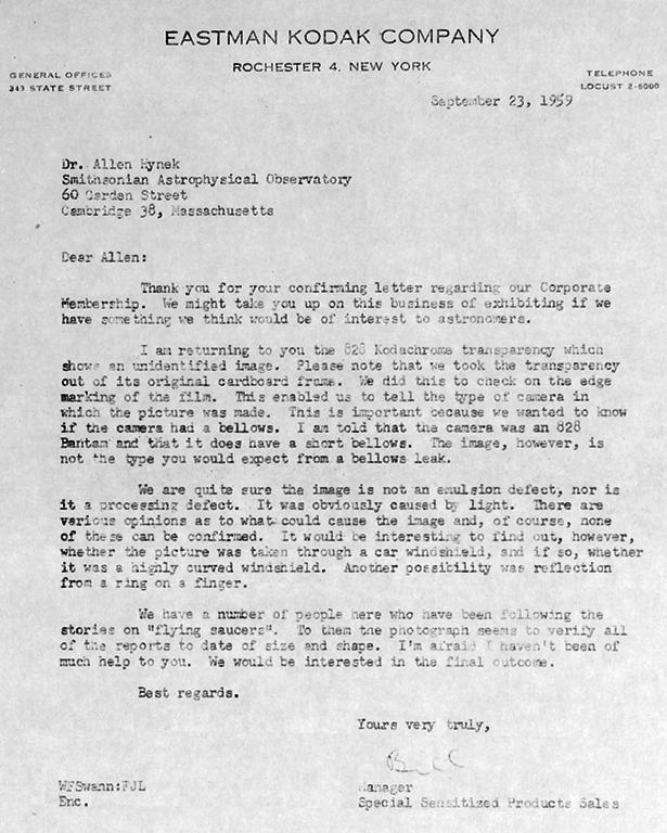 Kodak Letter