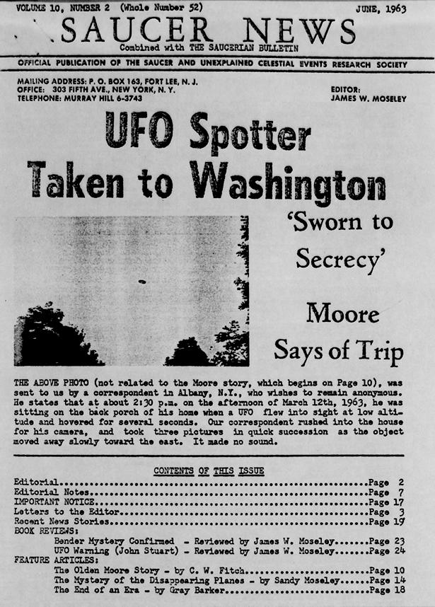 Saucer News