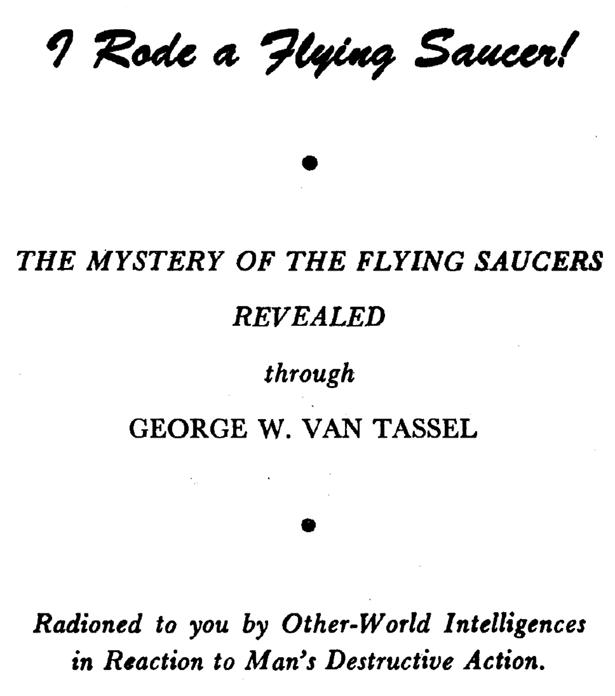 George Van Tassel