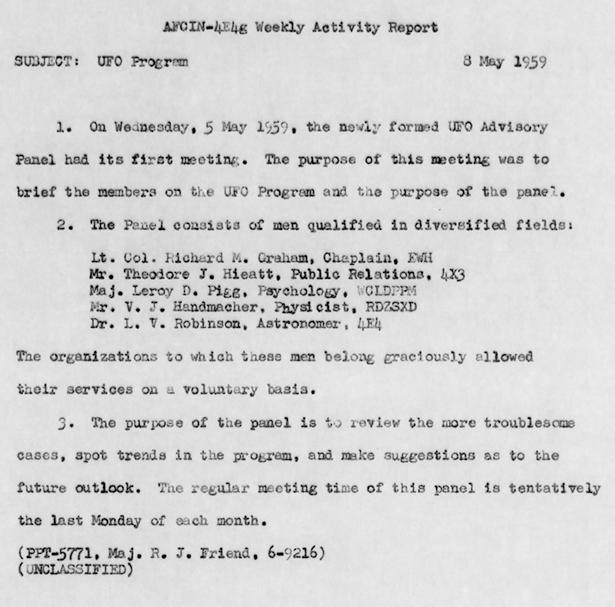 Activity Report 1959