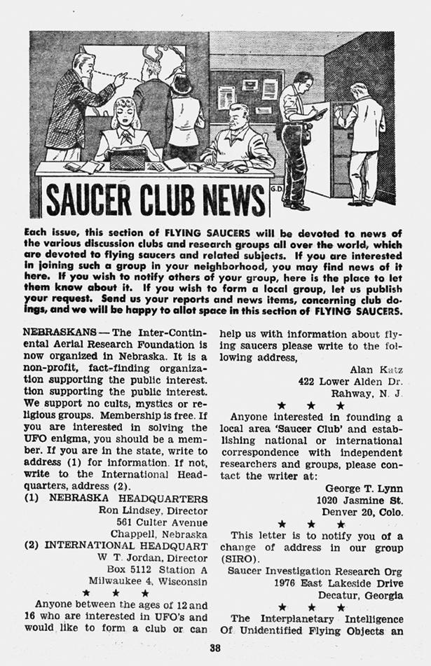Saucer clubs