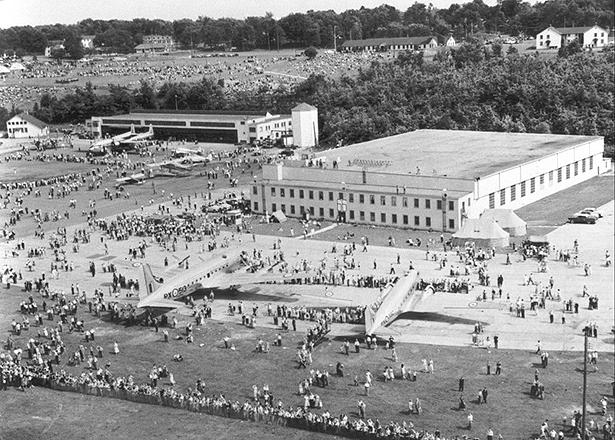 Rockcliffe June 1955
