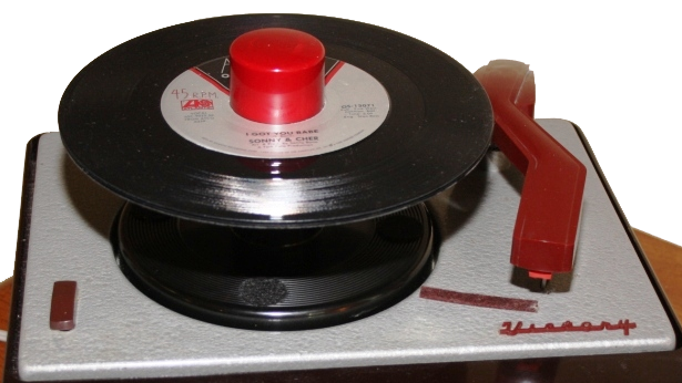45 RPM player