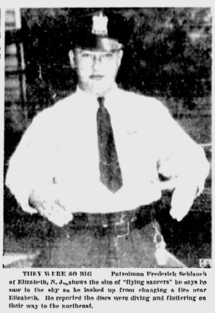 Patrolman Frederick Schlauch
