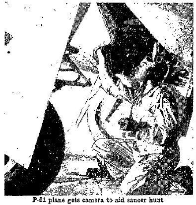 P-51 Gets Gun Camera