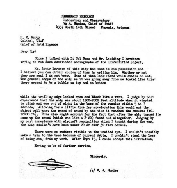 Rhodes Letter
