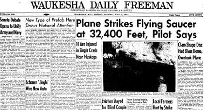 Waukesha Daily Freeman Headline